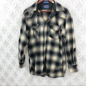 Pendleton Wool High Grade Western Wear Snap Shirt